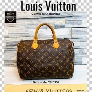 Louis Vuitton Satchel bag Speedy  30 Monogram